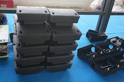 诱饵盒后期组装中