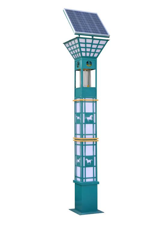 景隆JL-8801景观杀虫灯 户外太阳能灭蚊蝇灯