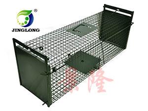 景隆 捕鼠器 捕猫器 捕鼠器 毒饵盒  双开门捕捉笼生产厂家