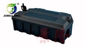 景隆诱饵盒  PP材质毒饵盒 消杀公司专用鼠药盒 毒饵站产生厂家