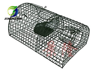 景隆捕捉笼 连续捕鼠笼 老鼠笼 捕鼠器 消杀公司专用捕鼠笼
