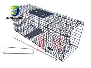 景隆捕捉笼 捕猫笼  捕鼠器 连续捕鼠笼 折叠捕捉笼产生产厂家