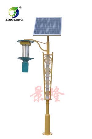 太阳能杀虫景观灯 灭蚊灯 公园杀虫灯  杀虫灯订制厂家