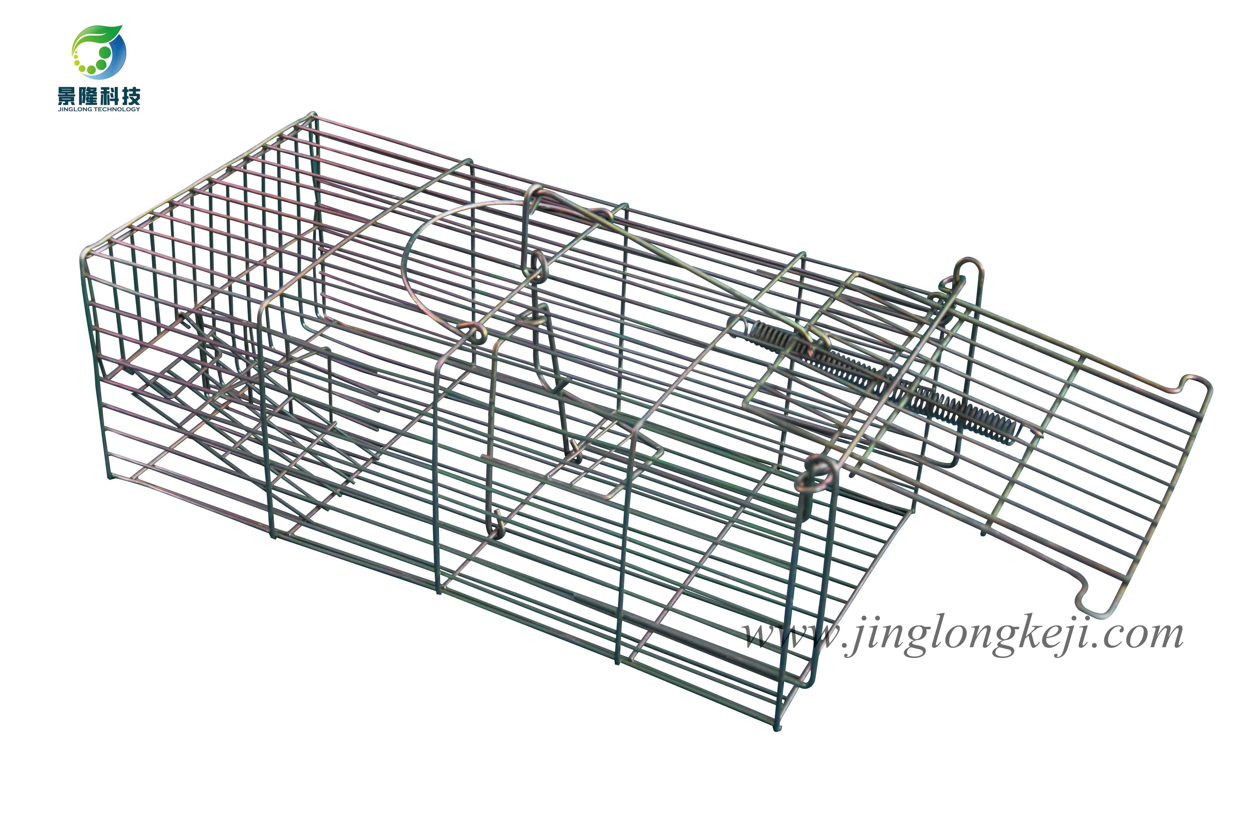 景隆JL-2001镀彩锌捕捉笼 松鼠笼 捕鼠笼