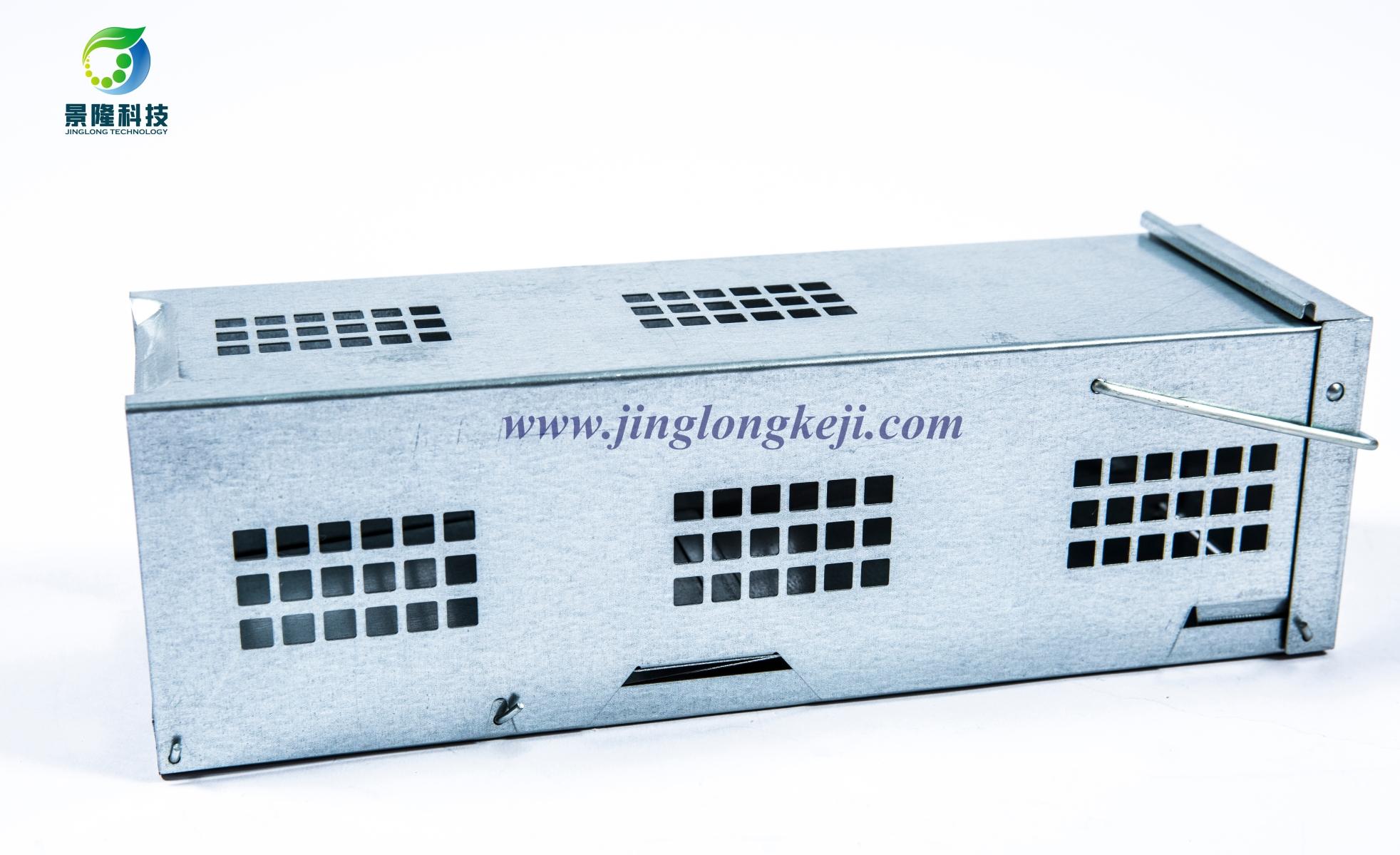 景隆JL-3010单开门捕鼠器 高灵敏踏板捕鼠器