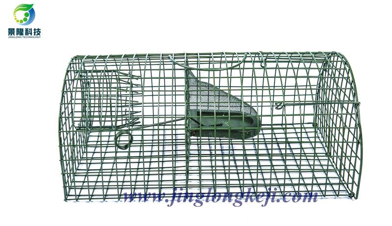 景隆JL-2002半圆型连续捕鼠笼 食品工厂老鼠笼家用