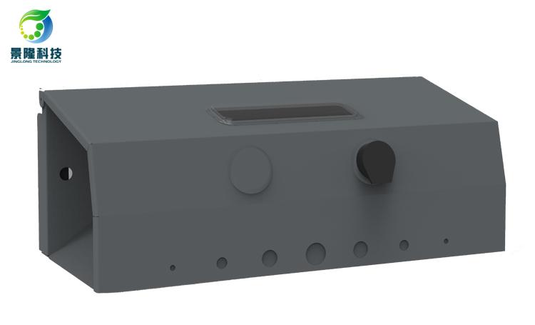 景隆JL-4801抗干扰型金属鼠饵站 视窗灭鼠诱饵盒