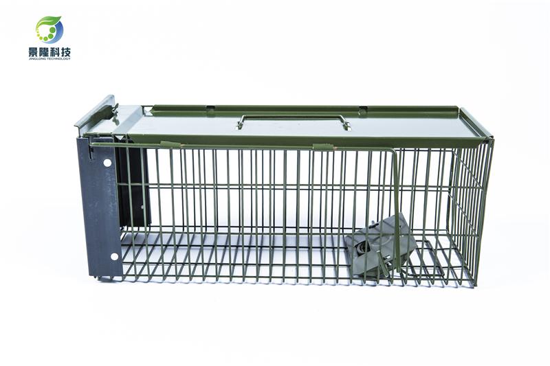景隆JL-2004单开门捕鼠笼 消杀用捕鼠器
